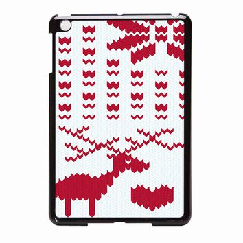 Christmas Winter Cross Stitch iPad Mini Case
