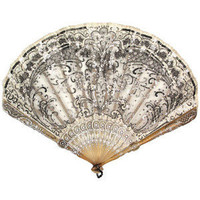 Lace Fans - Miller's Antiques & Collectables Price Guide - Polyvore