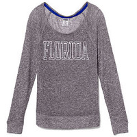 University of Florida Slouchy Sweater - PINK - Victoria's Secret