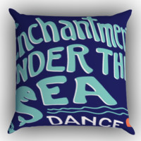 Back to the Future Enchantment Under The Sea Dance Z0709 Zippered Pillows  Covers 16x16, 18x18, 20x20 Inches