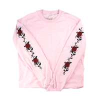 SMELL THE ROSES LONG SLEEVE