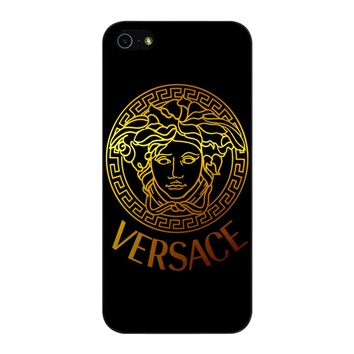 Versace Gold 001 45 iPhone 5/5S/SE Case