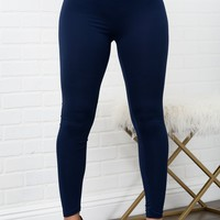 Jane Leggings - Navy