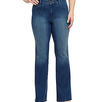 NYDJ Plus Barbara Bootcut Jeans - Oakridge