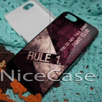 Fight Club Rule No 1 iPhone 4 / 4S / 5 Case Samsung Galaxy S3 / S4 Case Cover