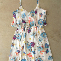 Wildflower Garden Dress [4398] - $24.50 : Feminine, Bohemian, & Vintage Inspired Clothing at Affordable Prices, deloom