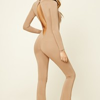 3546774f74d Talon Khaki Red Racer Back Jumpsuit - from Pretty Little Thing