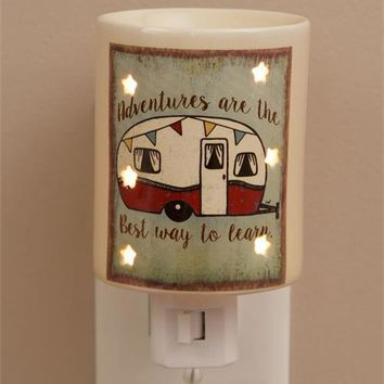 Tart Warmer Wall Plug In - Adventures Are The Best Way To Learn - Camper