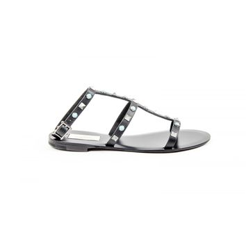 Valentino Womens Ankle Strap Flat Sandal KW2S0086 VQR 0NO
