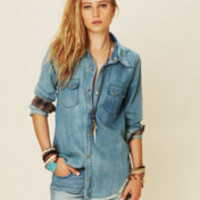 True Grit Denim Top