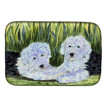Old English Sheepdog Dish Drying Mat SS8282DDM