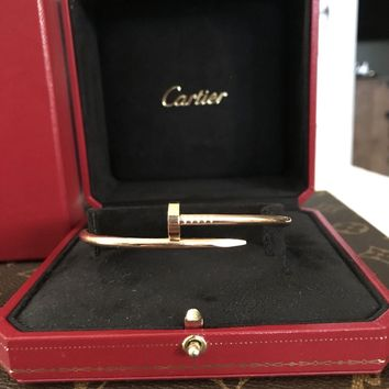 100% Authentic Cartier Juste Un Clou Bracelet size 20 Absolutely Gorgeous!
