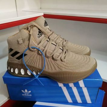 """""""Adidas"""" Men Casual Fashion High Help Basketball Shoes War Boots Sneakers"""