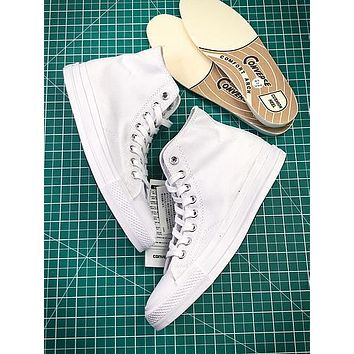 17aw Converse Chuck Taylor All Star Hi Addict Vibram White Sneakers
