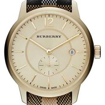 685159624c4 Burberry Textured Dial Watch