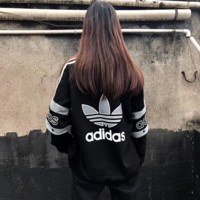 '' Adidas '' Women Zip Jacket Coat