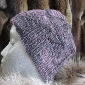 Hand Knit Merino Wool Hat