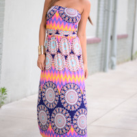 The Dharma Maxi, Navy/Multi