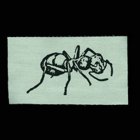 ANT Patch Screenprint Sew On Patch Punk Patch Small Patch Animal Patch Insect Art