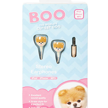 FOREVER 21 Boo The World's Cutest Dog Headphones Light Blue/Pink One