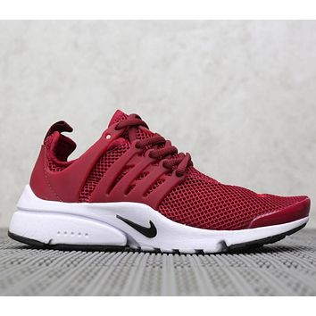 """NIKE""Air Presto Women Men Fashion Running Sport Casual Shoes"