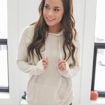 Cool Days Ahead Sweatshirt - Oatmeal