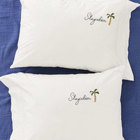 Staycation Pillowcase Set   Urban Outfitters