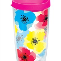 Bright Flower Blossom Wrap with Lid | 16oz Tumbler | Tervis®