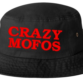 crazzy mosof bucket hat