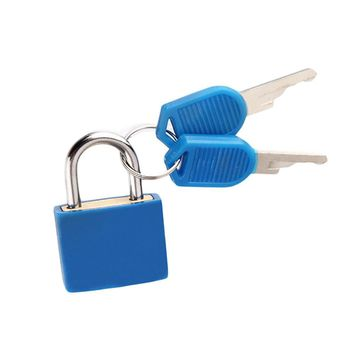 Travel Mini Strong Steel Padlock For Suitcase Diary Lock