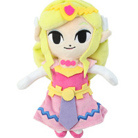 "The Legend Of Zelda: The Wind Waker Princess Zelda 6"" Plush"