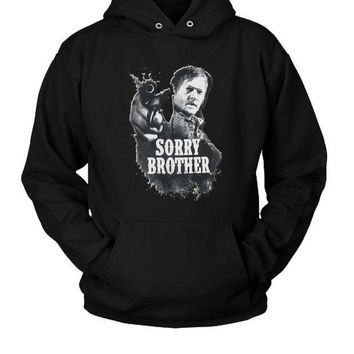 ICIK7H3 The Walking Dead Daryl Dixon Sorry Brother Hoodie Two Sided