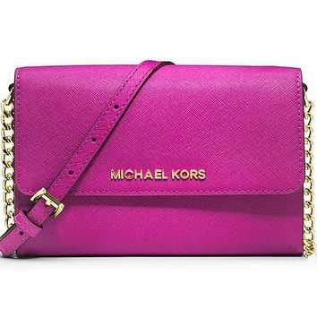 MICHAEL KORS women's fashion shopping leather shoulder bag F Rose