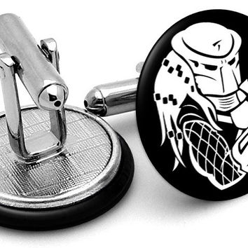 Predator Movie Cufflinks