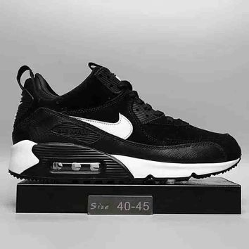 NIke Air Max 90 Mid Winter Women Men Fashion Leisure Running Sports Shoes G-DXTY-XZ