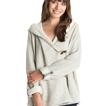 Rise Up! Hooded Cardigan 888701624226 | Roxy