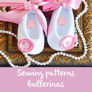 Baby shoes ballerina Sewing PAtterns