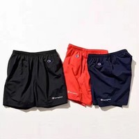 Champion Letter Printed Sports Shorts Pants