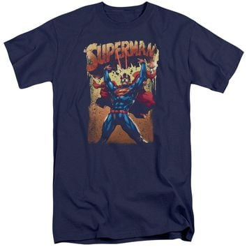 Superman - Lift Up Short Sleeve Adult Tall