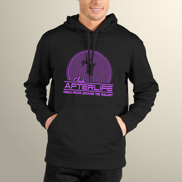 Mass Effect Inspired Club Afterlife Men's Hoodie