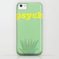 Psych! iPhone & iPod Case by Cassia