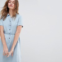 Jack Wills Lowestoft Tencel Soft Shirt Dress at asos.com