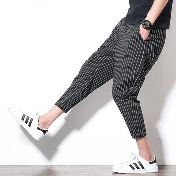 2017 Summer Casual Pants Men Fashion Harem Pants Men Pantalon Homme (Asian Size)