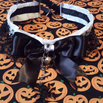 Halloween Kitten Collar