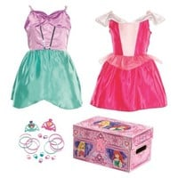 Disney Princess Sleeping Beauty & Ariel Royal Dress Up Trunk