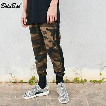 Pants Camouflage Casual Skinny Zipper Bolton Sweatpants Solid Hip Hop high street Trousers Pants Men Joggers Pants