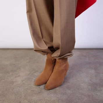 LORELLE CHOCOLATE SUEDE BOOTS