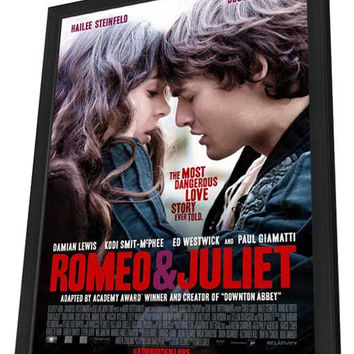 Romeo and Juliet 11x17 Framed Movie Poster (2013)