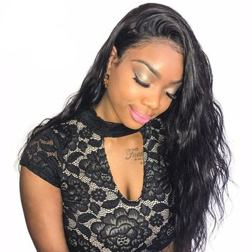 High Quality Human Hair Wigs 360 Lace Frontal Wigs