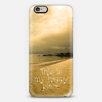Happy Place iPhone 6 case by Alice Gosling | Casetify